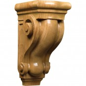 Hand Carved Scroll Small