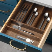 Cutlery Divider (Design B) - Walnut
