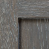 Weathered Grain - Driftwood with White on White Oak