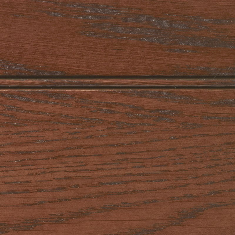 Cordovan Stain With Brown Glaze On White Oak