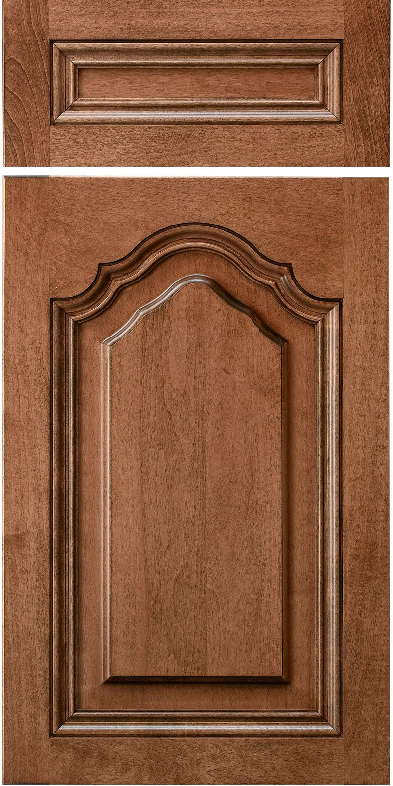 Presidential Cathedral Solid Wood Materials Cabinet