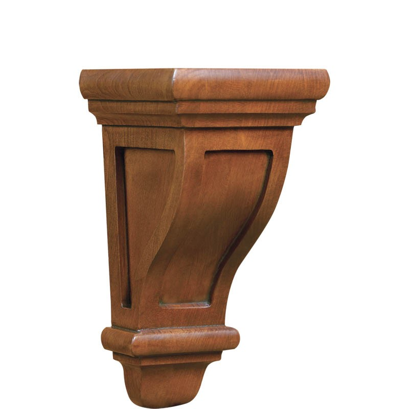 Arts & Crafts Convex Corbel