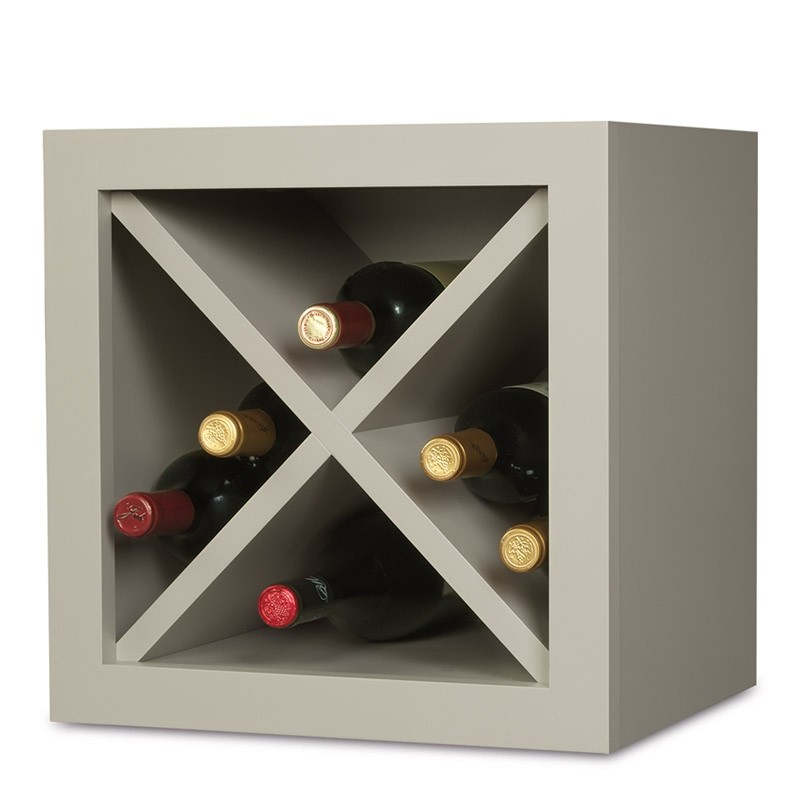"""X"" Style Wine Cabinet"