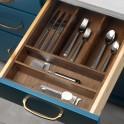 Cutlery Divider (Design B) - Walnut
