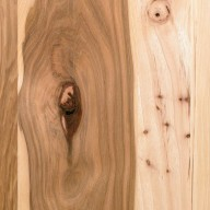 Rustic Knotty Hickory