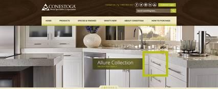 Conestoga Wood Specialties Announces Launch of New Website