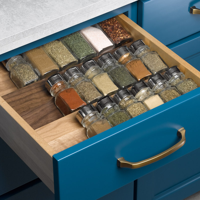 CONESTOGA WOOD EXPANDS CUSTOM DRAWER BOX PROGRAM TO FEATURE MORE OPTIONS IN WALL-TO-WALL WALNUT