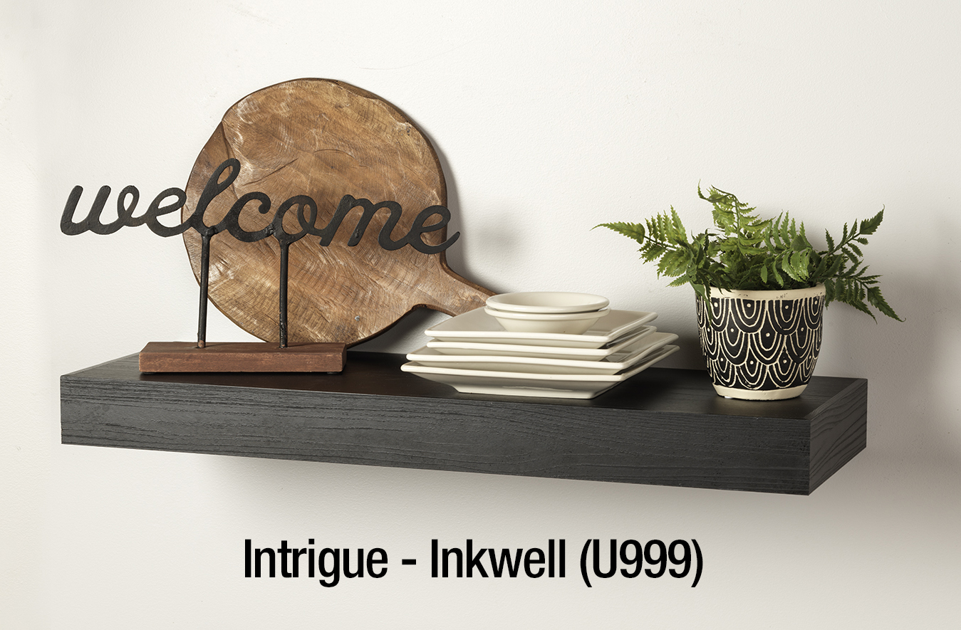 Inkwell Intrigue Floating Shelf