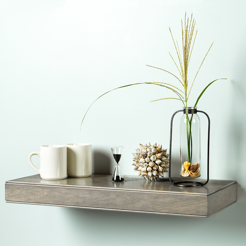 LOOKING FOR A FLOATING SHELF WITH A DISTINCTIVE STYLE? WE'VE GOT A BEAD ON IT!