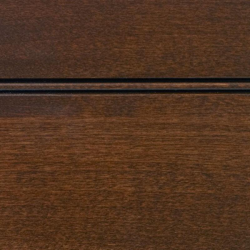 Chestnut Stain With Sable Glaze On Alder