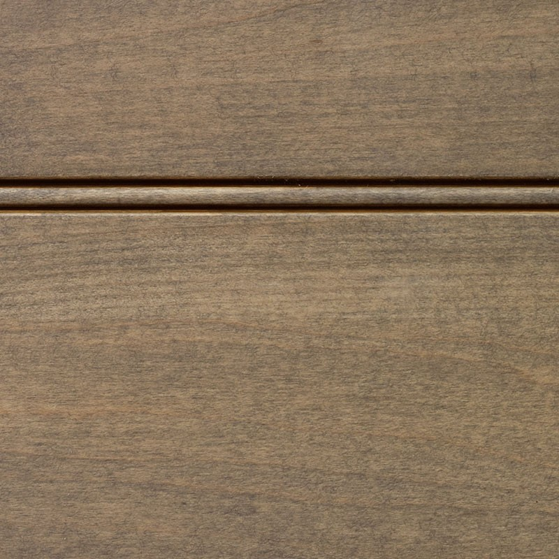 Driftwood Stain With Brown Glaze On Hard Maple